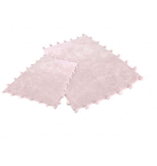 Набор ковриков Irya Alya 60x90-40x60 см (розовый)