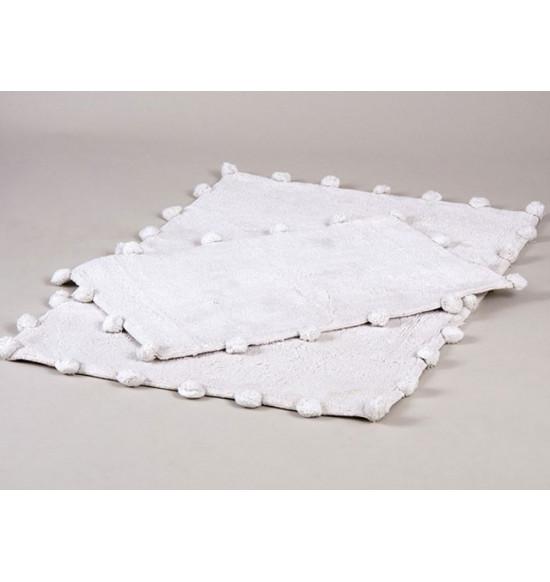 Набор ковриков Irya Alya 60x90-40x60 см (серебро)