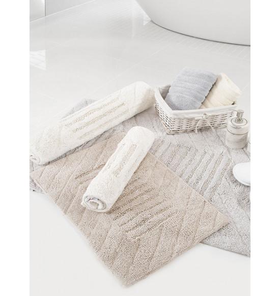 Коврик для ванной комнаты Irya Avis 70x110 светло-серый