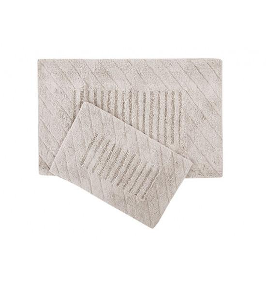 Набор ковриков для ванной Irya Avis 60x90-40x60 бежевый