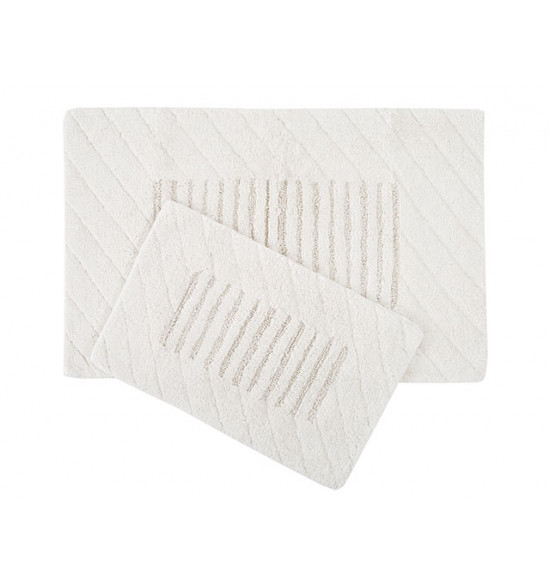 Набор ковриков для ванной Irya Avis 60x90-40x60 крем