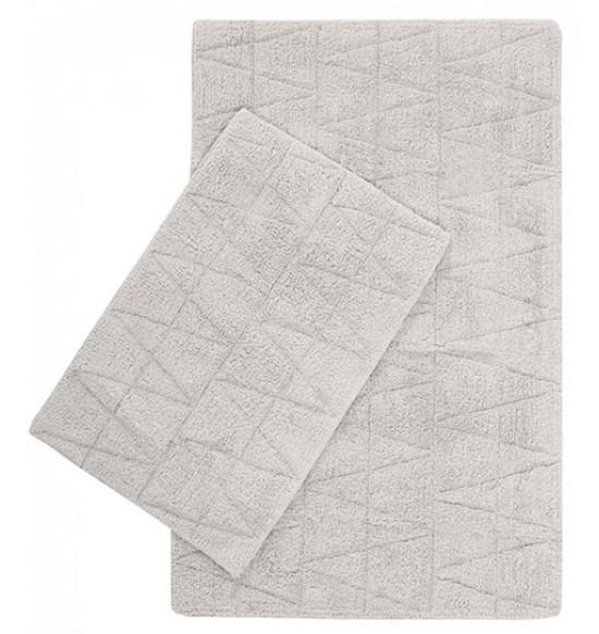 Набор ковриков Irya Kinsey 60x90-40x60 см (светло-серый)