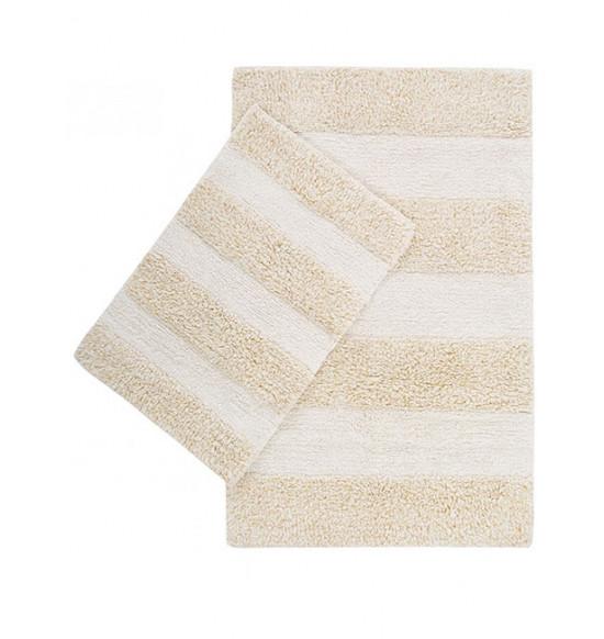 Набор ковриков с люрексом Irya Kate 60x90-40x60 см (золото)