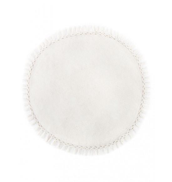Коврик круглый Irya Lora d 90 см крем