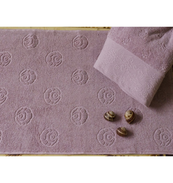 Полотенце для ног TAC махровое MERRY 50x70 см (чайная роза)