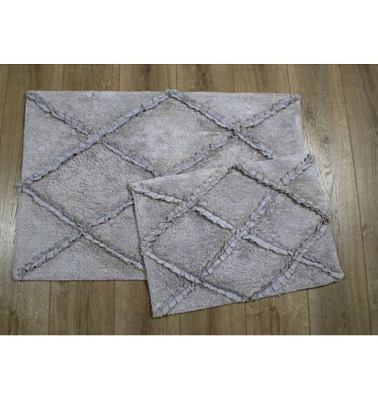 Набор ковриков IRYA Nadia 60x90-40x60 серый
