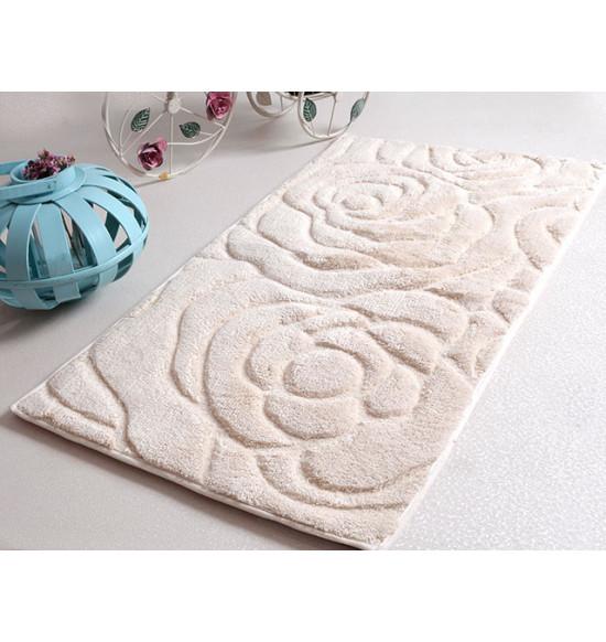 Набор ковриков Irya Pretty 60x100+45х60 см (кремовый)