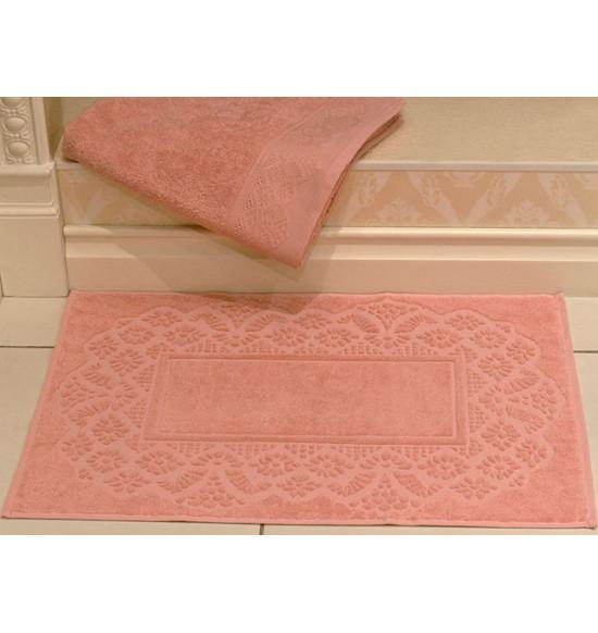 Полотенце для ног TAC махровое SAFRAN 50x70 см (темно-розовое)