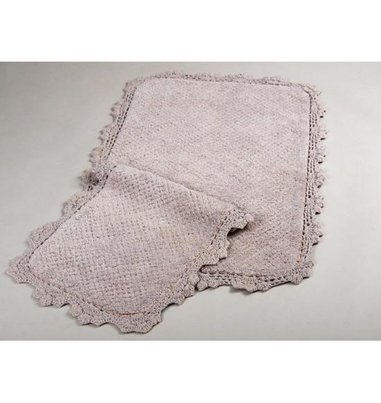 Набор ковриков Irya Serra 60x90-40x60 бежевый