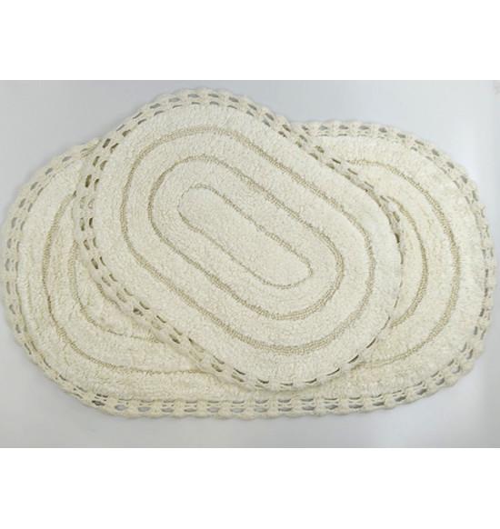 """Набор ковриков для ванной """"MODALIN"""" YANA 60x100 + 50x70"""