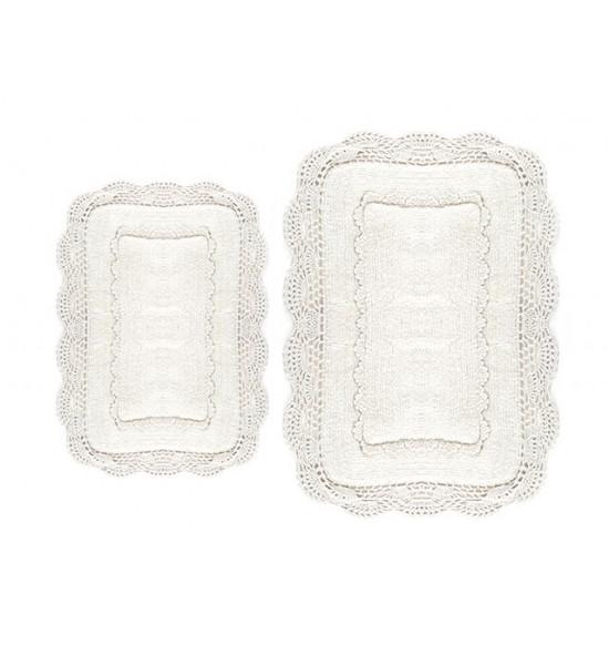 Набор ковриков Irya Anita 60x90-40x60 см (кремовый)