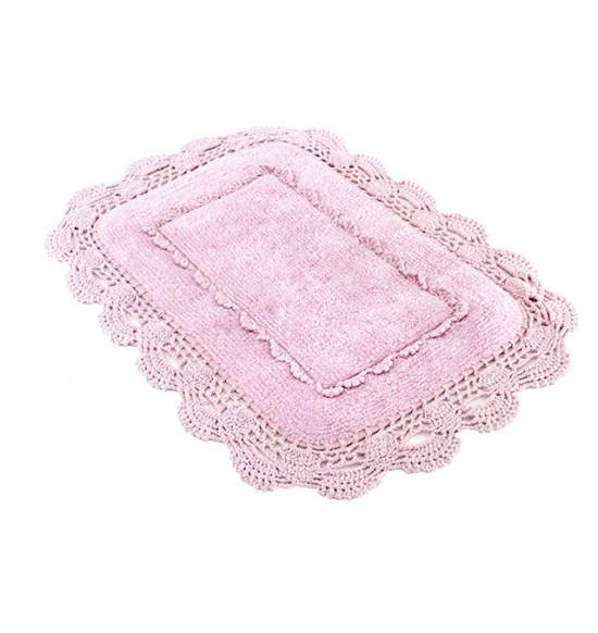 Коврик Irya Anita 60x90 см (розовый, кремовый)