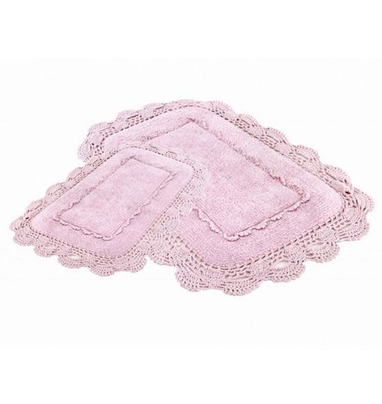 Набор ковриков Irya Anita 60x90-40x60 см (розовый)