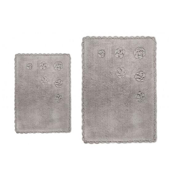 Набор ковриков Irya Blossoms 60x90-40x60 см (бежевый)