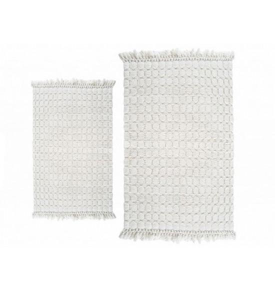 Набор ковриков Irya Broadway 60x90-40x60 см (крем)