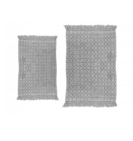 Набор ковриков Irya Broadway 60x90-40x60 см (серый)