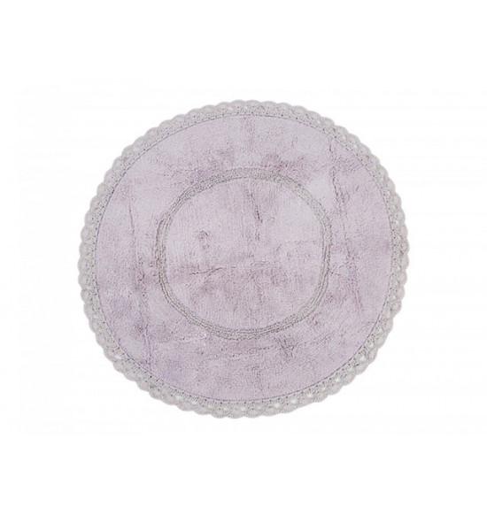 Коврик круглый Irya Cathy d 80 см фиолетовый