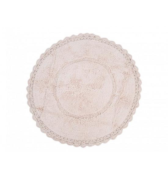 Коврик круглый Irya Cathy d 80 см розовый