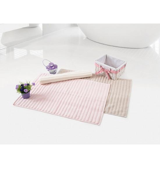 Полотенце для ног Irya Crimp 50x70 см (розовый)
