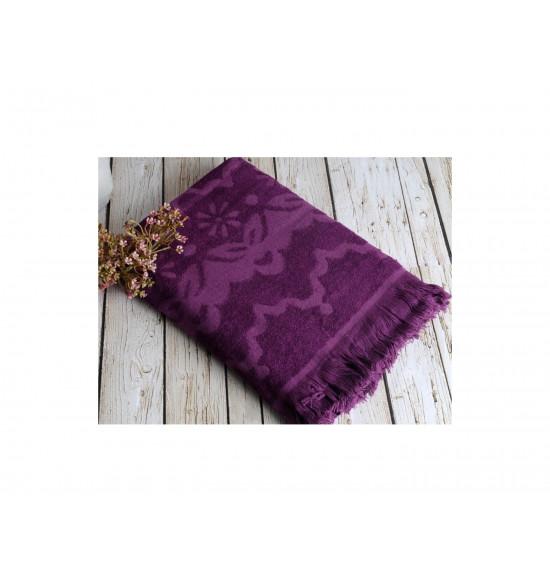 Полотенце бамбуковое для пляжа Irya Daisy 90x170 фиолет