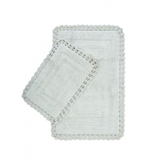 Набор ковриков Irya Debra 60x90-40x60 см (светло-зеленый)