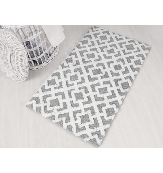 Набор ковриков для ванной IRYA Finley 60x100-45x60 серый