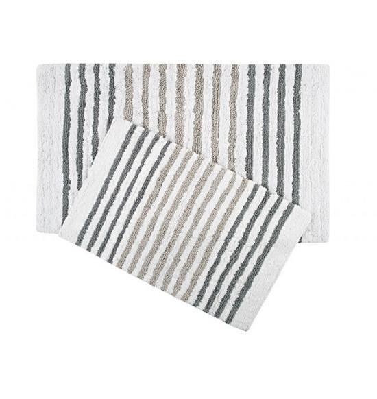 Набор ковриков Irya Grenada 55x80-70x115 см (серый)