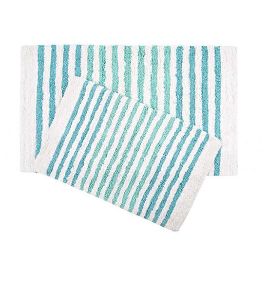 Набор ковриков Irya Grenada 55x80-70x115 см (морской)