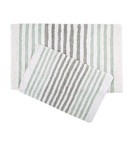 Набор ковриков Irya Grenada 55x80-70x115 см (зеленый)