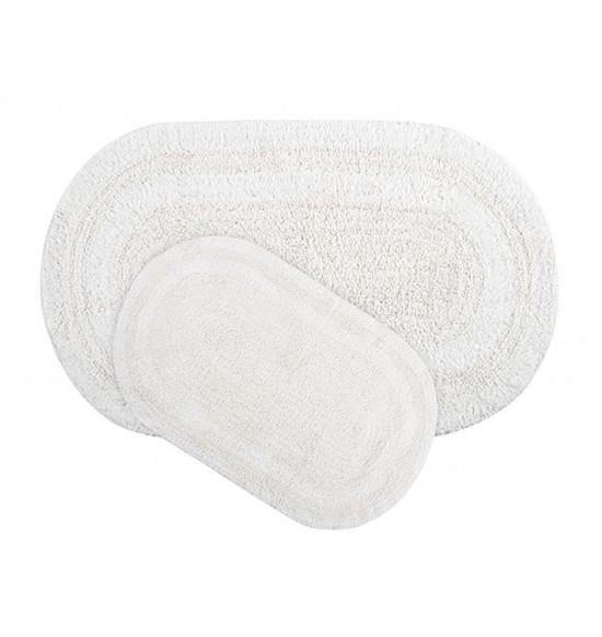 Набор ковриков Irya Havana 50x80-45x60 см (белый)