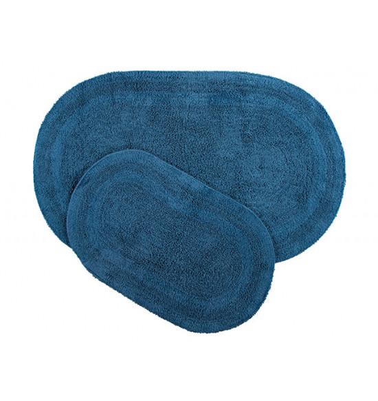 Набор ковриков Irya Havana 50x80-45x60 см (синий)