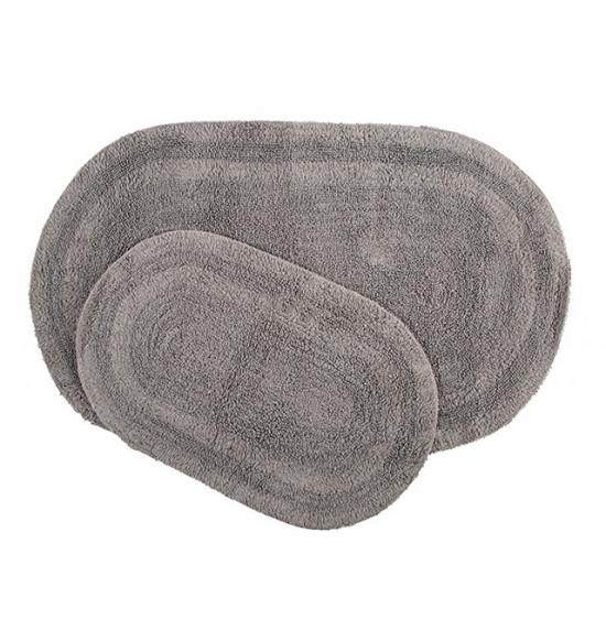 Набор ковриков Irya Havana 50x80-45x60 см (серый)