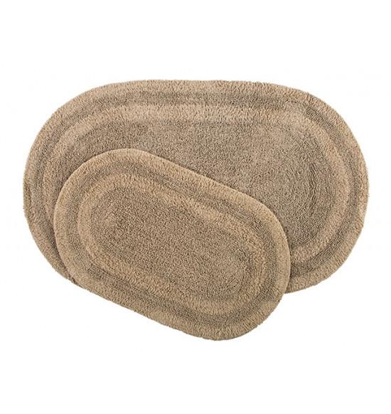 Набор ковриков Irya Havana 50x80-45x60 см (коричневый)