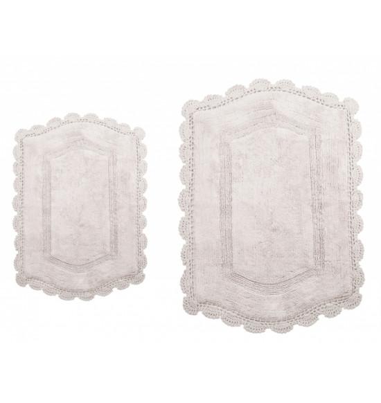 Набор ковриков Irya Hena 60x90-40x60 см (кремовый)