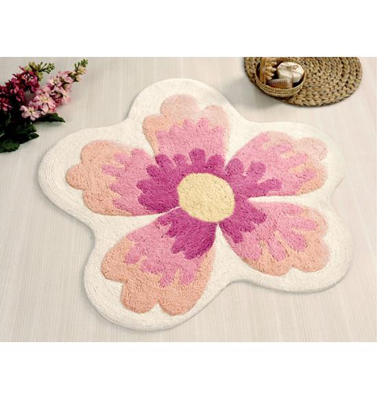 Коврик круглый для ванной Irya Lavin d 100 см розовый