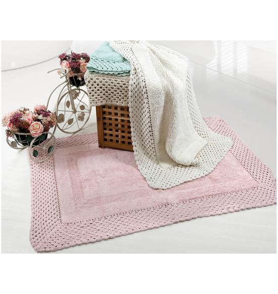 Коврик для ванной IRYA Lizz 70x100 розовый