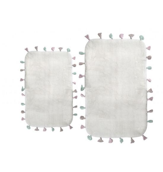 Набор ковриков Irya Lucca 60x90-40x60 крем
