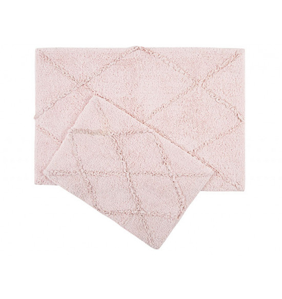 Набор ковриков IRYA Nadia 60x90-40x60 розовый