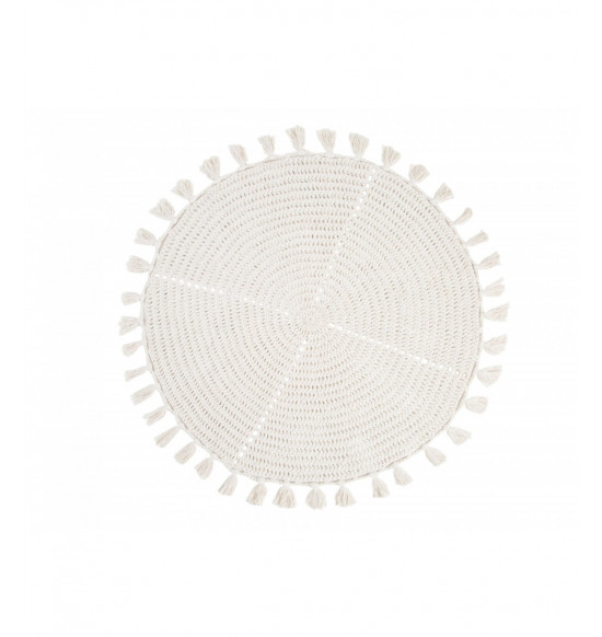 Коврик круглый Irya Olita d 100 см крем