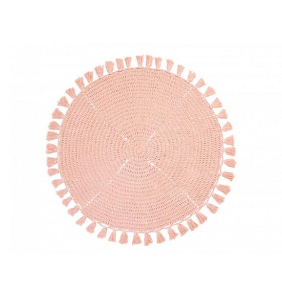 Коврик круглый Irya Olita d 100 см розовый