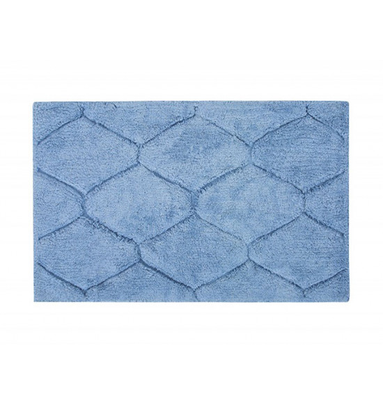 Коврик Irya Oliver 50x80 см голубой