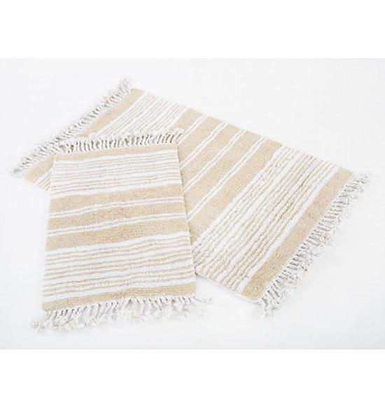 Набор ковриков Irya Relax 60x90-40x60 см (бежевый)