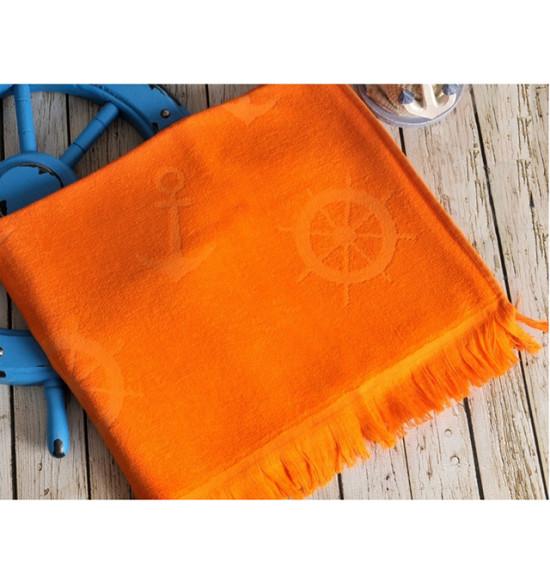 Полотенце бамбуковое для пляжа Irya Seaside 90x170 оранжевый