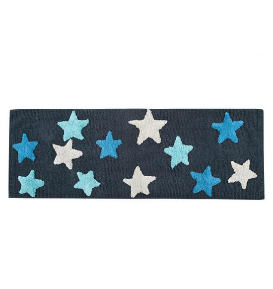 Коврик Irya Star 50x150 см (темно-синий)