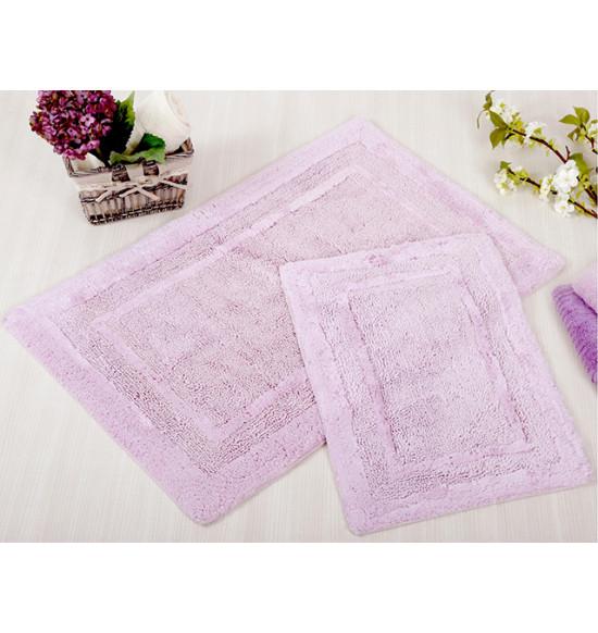 Набор ковриков IRYA Superior 60x90-40x60 лилово-розовый