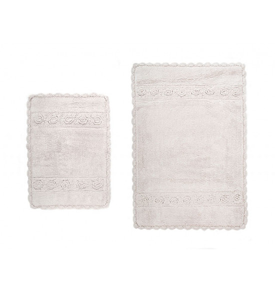 Набор ковриков Irya Waltz 60x90-40x60 см (бежевый)