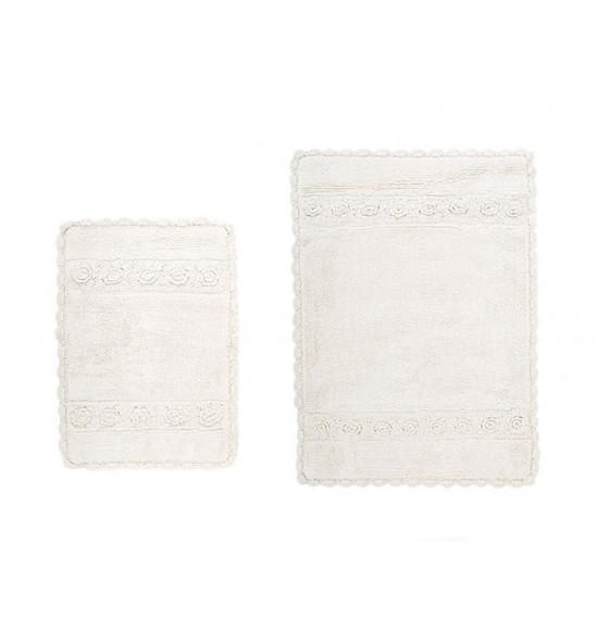 Набор ковриков Irya Waltz 60x90-40x60 см (крем)