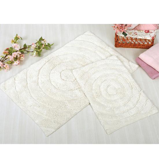Набор ковриков IRYA Waves 60x90-40x60 крем