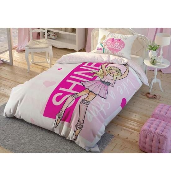 Детское постельное белье TAC 1.5 сп. Barbie Ballet