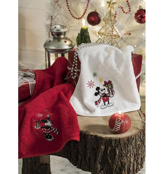 Набор новогодних салфеток TAC Yeni Yil Mickey Mouse 30х50 см 1/2 шт